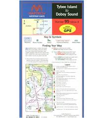 Ping Sizing Chart Dots Maptech Tybee Island To Doboy Sound Waterproof Chart