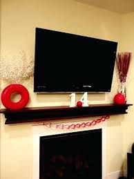 tv over fireplace decor gorgeous valentine s day mantel ideas enchanting fireplace surround ideas for you tv over fireplace decor