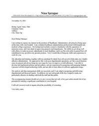 healthcare administrator cv template health care administrator cover letter resume cover letter database administrator cover letter