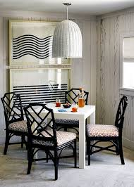 coastal inspired furniture. Simple Coastal Inspired Dining Space With Chippendale Chairs Furniture