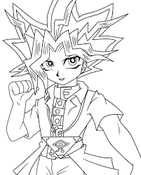 Yami bakura (dark bakura) pages. Yami Yugi Season 0 Lineart By Pinkycute03 On Deviantart