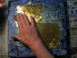 demented gold leaf mixed a