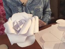 Flower Paper Mache How To Produce Your Paper Rose Youtube