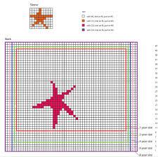 kid s starfish sweater all knitting com starfish chart 2