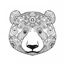 Small Picture Advanced Bear Coloring Page Bears Blood and Free