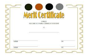 Merit Certificate Sample Inspiration Merit Certificate Templates Template Award Gocreatorco