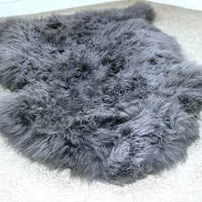 gray faux fur rug fur rug faux fur area rug gray faux fur