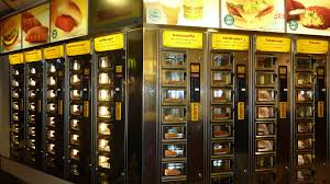 Vending Machine Food Cool Vending Machine For Food Amsterdam In Holland There Can B Flickr