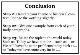 writing a dbq essay conclusion mr ott s classroom wiki the process for a conclusion