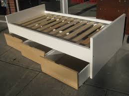 storage bed ikea hack. Gallery Of Platform Bed With Storage Diy Including Best Ideas Collection Images Ikea Hack T