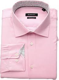 Bugatchi Size Chart Bugatchi Mens Shaped Fit Long Sleeve Woven Shirt At Amazon