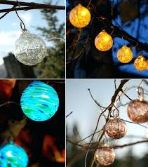 multi color solar powered led string lights outdoor garden lawn gate 50 clear indoor
