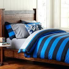 blue stripe duvet cover blue stripe double duvet cover blue ticking stripe duvet cover