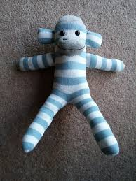 picture of sock monkey tutorial