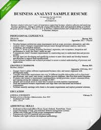 Business Analyst Cv 20 Resume Samples Depiction – Yierdaddc.info