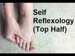 Reflexology Chart Top Of Foot Self Reflexology Top Of Foot Massage Monday 223