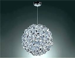 ball chandelier lights only 6 light creative shaped pendant lighting globes home depot canada chan