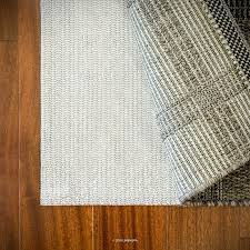 linenspa non slip rug pad rug pad size rectangle 9 x 6