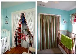 B. B.: Fabric closet doors