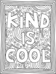 Kindness Coloring Pages Kindness Posters 20 Fun Creative Designs