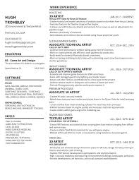 Hugh Trombley 3d Environment Artist Resume