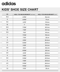 Adidas Boys Size Chart Always Up To Date Adidas Slides Size Chart 2019