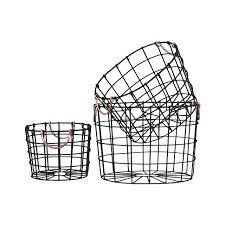 Decorative metal baskets baskets bowls for less overstock
