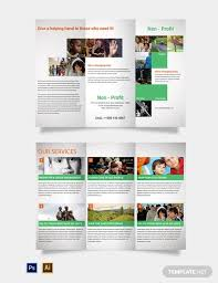Non Profit Brochure Templates Free 21 Non Profit Brochure Designs And Templates Word Psd