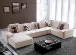 modern sectional sofas microfiber. Plain Modern Awesome Sectional Sofa Microfiber  Best 49 For  Your Table Ideas With  Modern Sofas C