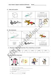 A collection of english esl worksheets for home learning, online practice, distance learning and english classes to teach about phonics, phonics. Phonics U E Esl Worksheet By Kzhunter