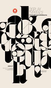 Positive Graphic Design Positive Negative Typography Poster Design Creative