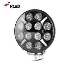 Service Truck Led Work Lights Hot Item 9 Inch Led Truck Spare Part Work Lamp Driving Light
