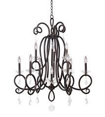 kalco 7228tb winona 10 light 33 inch tarnished brass chandelier ceiling light