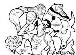 Michael Jordan Coloring Pages Lebron James Coloring Page Free ...