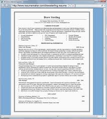 Free Printable Resume Maker Stunning Free Online Resume Templates Printable Simple Business Analyst