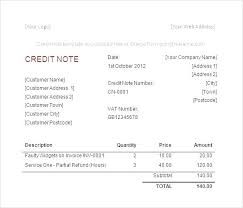 Sample Credit Note Invoice Template Credit Note Positivestories Info