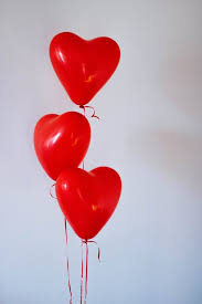 Images heart Balloons Three Red Heart Balloons Pexels 167 Romantic Heart Pictures Pexels Free Stock Photos