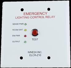 emergency lighting controls elcr z nine inc