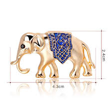 Elephant Design Gifts Amazon Com Dabixx Brooches And Pins Elephant Gifts Metal