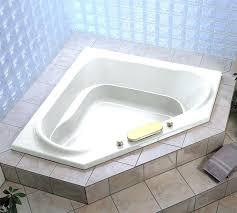 corner tub small jacuzzi bathtub bathroom whirlpool bath