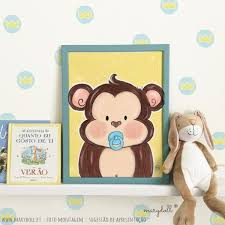 Little Baby Monkey Poster