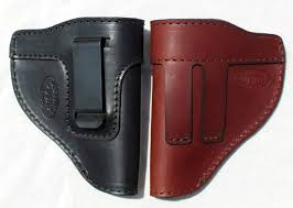the defender leather iwb holster fits most j frame revolvers incl ruger lcr s w 442 642 taurus charter most 38 special revolvers made in usa