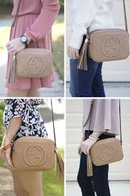 see the gucci soho disco bag styled in the posts below