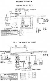 wiring schematic 4 stroke net all the data for your honda honda z50 general export 1969 wiring schematic
