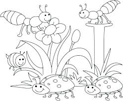Free Printable Coloring Pages For Preschoolers Modest Spring