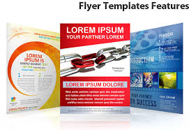 Flyer Templates Features - SmileTemplates.com
