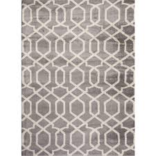 world rug gallery contemporary trellis design blue 8 ft x 10 ft indoor area rug 304 blue 7 10 x10 2 the home depot
