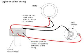 cigar box guitar wiring guitars tearing potentiometer diagram