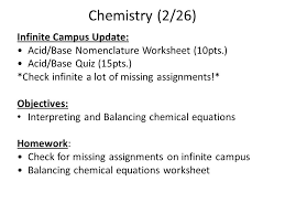 6 chemistry