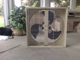 one of my box fans post 1950 vintage antique fan collectors image jpg
